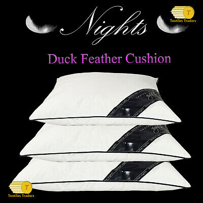 """Duck Feather & Down Cushion Pads Inners Inserts Fillers 16"""" 18"""" 20"""" 22"""" & 24"""""""