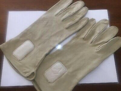 Vintage and collectible STAGG LEATHER GLOVES CIRCA 1950'S MADE IN AUSTRALIA