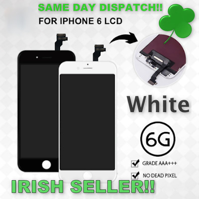 IPhone 6 LCD Assembly With Touch Screen Display Replacement AAA+++  (White)