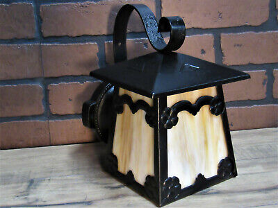 Vintage Antique Sears & Roebuck Porch Light Craftsman Arts Crafts Bungalow UL