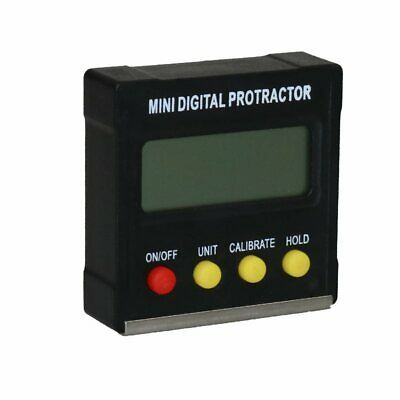 Digital Protractor Inclinometer Clinometer Angle Gauge Meter Level Box 360degree