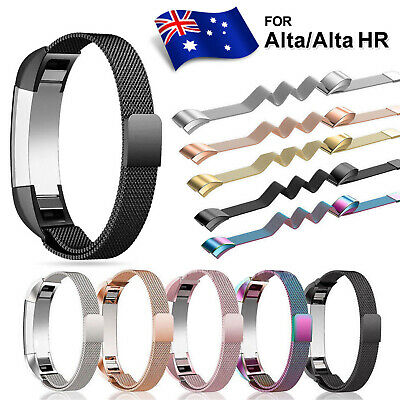 For Fitbit Alta / Alta HR Stainless Steel Magnetic Replacement Spare Band Strap