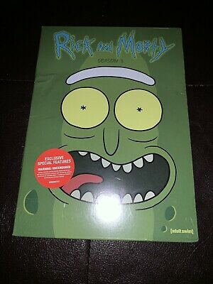 Brand new Rick & Morty Season 3 DVD Complete Third Season
