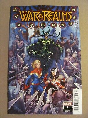 War of the Realms #1 Marvel 2019 Series Cho Hela Variant 9.6 Near Mint+