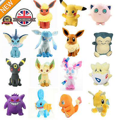 "Soft Doll 7"" /18cm Pokemon Evolution Of Eevee Plush Kids Toys Doll Eeveelution"