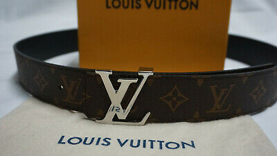 2f48e966ba2e Louis Vuitton Monogram Macassar Belt Reversible Size 95 38 M9821 100%  AUTHENITC