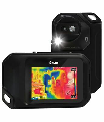 FLIR C3 Compact Thermal Imaging Camera with WiFi, Soft Case & Tripod Mount