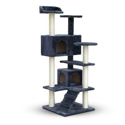 Cat Scratching Post Tree Perch 134cm Condo Tower Climbing Furniture