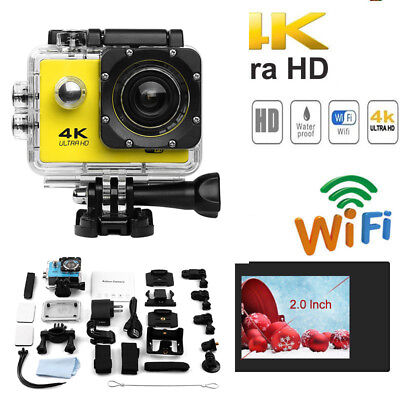 Waterproof Sports Action Camera 4K Wifi DVR DV Ultra HD Camcorder Cam SJ9000/SJ4