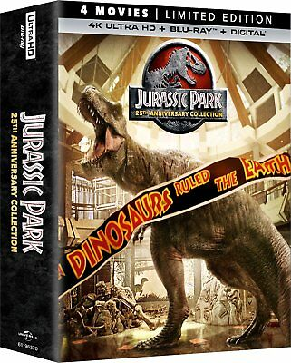 Jurassic Park 25th Anniversary Collection Limited Edition 4K Ultra HD + Blu-ray