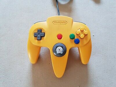 Official YELLOW Controller Control Pad For Nintendo 64 N64.