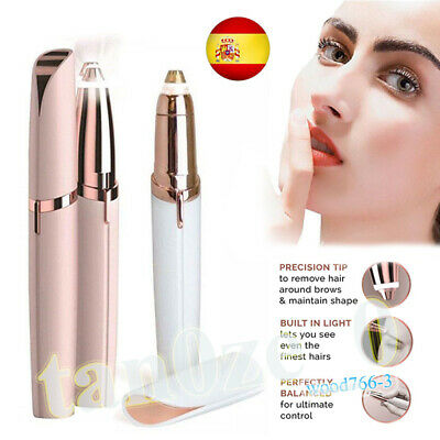 Electric LED Finish Touch Flawless Eyebrow para recortadora de cejas para mujere