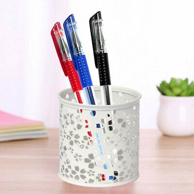 Office Home Supplier Desk Pencil Pen Holder Storage Organizer Cup Contain FI