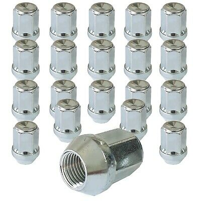 20 Wheel Lug nuts tapered closed 1/2 Zollx20 UNF for FORD Explorer Mustang Conve