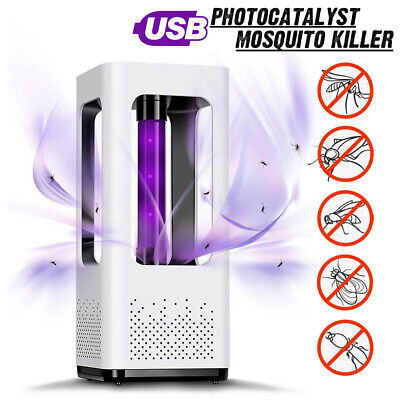 Electric Mosquito Killer Lamp UV Insect Trap Pest Control Bug Zapper LED Light