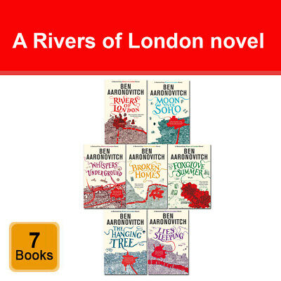 Ben Aaronovitch A Rivers of London Series 7 Books Collection Set pack NEW