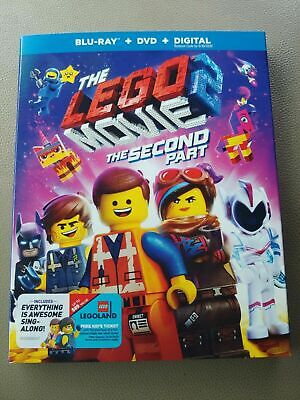 The LEGO Movie 2: The Second Part (Blu-ray + DVD + Digital) UNOPENED