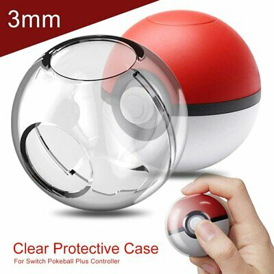 For Nintendo Switch Pokeball Plus Controller Crystal Protector Case Anti-Scratch