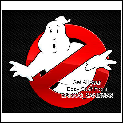 Fridge Fun Refrigerator Magnet GHOSTBUSTERS Logo -version A- Retro 80s