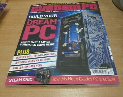 Custom PC magazine JUL 2019 Build your Dream PC, Graphics Cards Labs, Air Vents