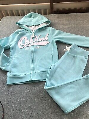 Osh Kosh Girls Tracksuit  Acqua Size 6  great condition Hardly Worn