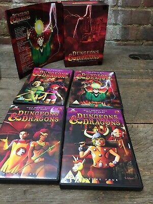 Dungeons & Dragons:Complete Series 1-3(4xDVD R2)27 Episodes 80s Animated Cartoon