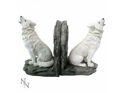 Nemesis Wardens of the North Bookends Howling Wolves Wolf Game of Thrones Decor