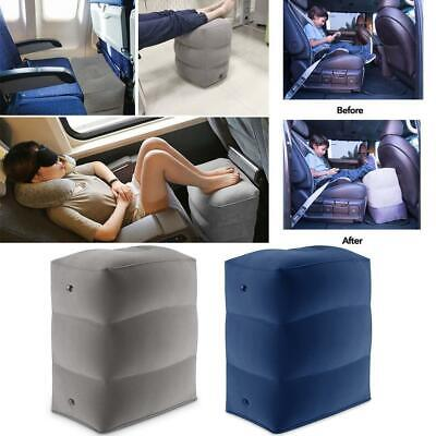Inflatable 3 Layers Travel Footrest Leg Relax Cushion Office Portable Pillow Pad
