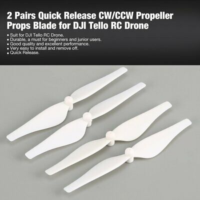 4X CCW CW Propellers Quick Release Props Blades For DJI Tello Ryze