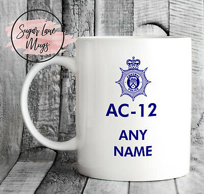 *Personalised Any Name Text* Ac12 Ac-12 Ac 12 Line Of Duty Fathers Day Mug