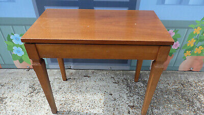 Vintage piano/dressing table stool  with storage sturdy item