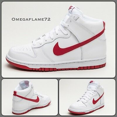 7927a870f9 NIKE DUNK HIGH 2008 Euro Champs Germany UK 9 EUR 44 US 10 Red White ...