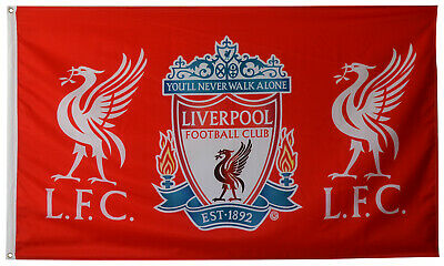 Liverpool FC You'll Never Walk Alone 3x5FT Flag red Banner US shipper