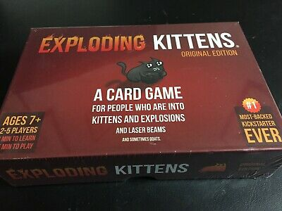 Exploding Kittens: A Card Game About Kittens and Explosions. New/sealed.