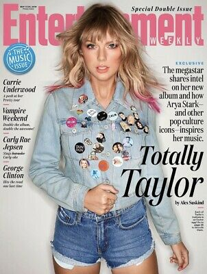Taylor Swift - The Music Issue - Entertainment Weekly Magazine - May 2019