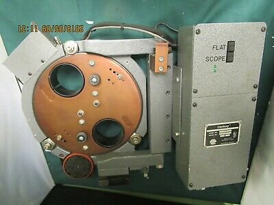 Century 35mm Projector dual lens Automatic Turret Model 2020DC