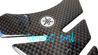Top Quality motorcycle tank pad/ protector Yamaha R6 R1 YZF YBR & more - carbon