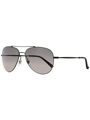 2396085e6c GUCCI Aviator Sunglasses GG0500S Black Frame - Grey Lens 59-14-140 MADE  ITALY
