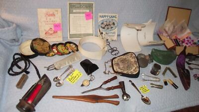 Unbelievable Lot of Antique items.  67 pcs.  Lots of money to be made here. #60