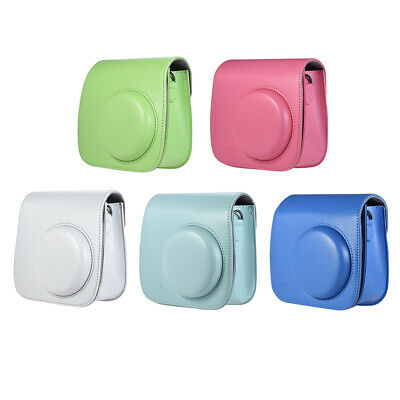 PU Leather Shoulder Bag Instant Camera Case For Fujifilm Instax Mini 8/9/8+
