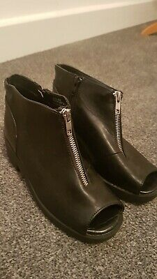 Girls River island Real Leather Shoes Summer Size 2