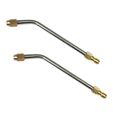2Pcs 1/4'' High Pressure Power Washer Replacement Wand, Extension Lance