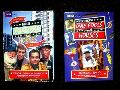 Only Fools And Horses collectors ed series 1-7 AND THE XMAS SPECIALS =12 discs