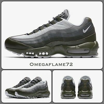 NIKE AIR MAX 95 Ultra Essential Grey Size Uk 9.5 44.5 EUR