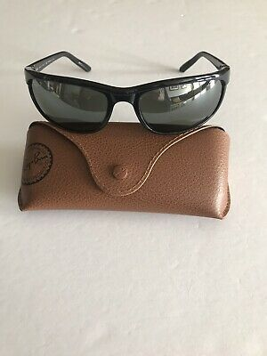 b1e652128e Ray Ban sunglasses Polarized De Luxe RB2027 Black Made In Italy New 100%  Auth