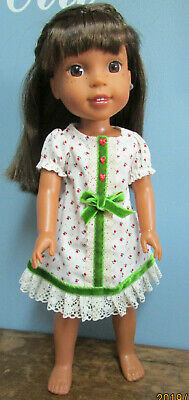 """Dress Set made to fit  14.5"""" Wellie Wishers dolls  4+"""