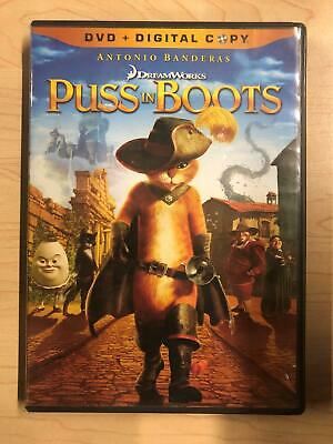 Puss in Boots (DVD, 2011) - F0428