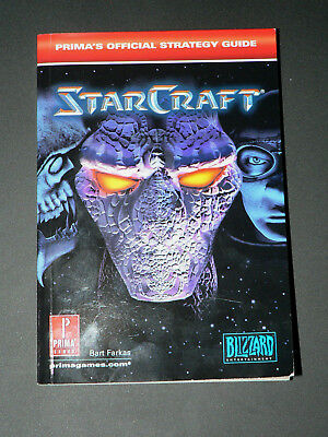 NEW - StarCraft: Prima's Official Strategy Guide by Bart Farkas - NEW