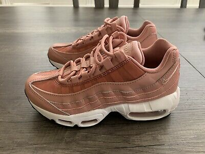 a6f1bc7ca4 NIKE WOMEN'S AIR Max 95 Running Shoes GG8 Rust Pink 307960-606 Size ...