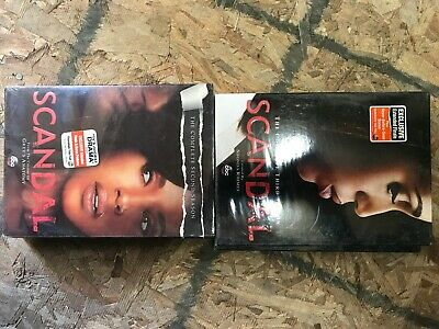 Scandal: The Complete First & Second Season DVD Season 1 & 2 TV Show New